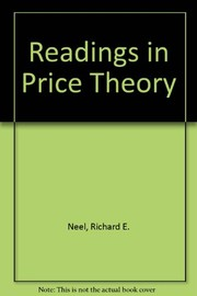 Cover of: Readings in price theory | Richard E. Neel