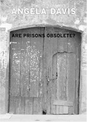 Cover of: Are Prisons Obsolete? | Angela Davis