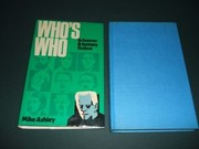 Cover of: Who's who in horror and fantasy fiction
