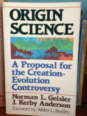 Cover of: Origin science: a proposal for the creation-evolution controversy