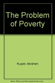 Cover of: The problem of poverty