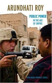 Cover of: Public power in the age of empire