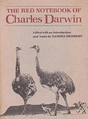 Cover of: The red notebook of Charles Darwin