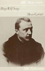 Cover of: Hugo Wolf songs