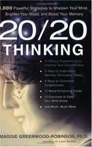 Cover of: 20/20 Thinking PA