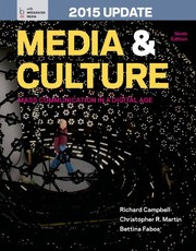 Cover of: Media and Culture with 2015 Update: An Introduction to Mass Communication