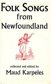 Cover of: Folk songs from Newfoundland