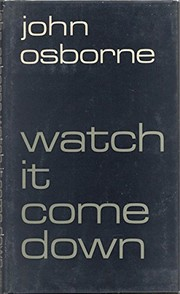 Cover of: Watch it come down
