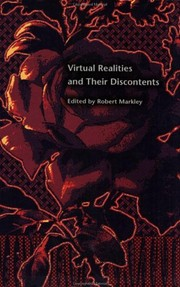 Cover of: Virtual realities and their discontents |