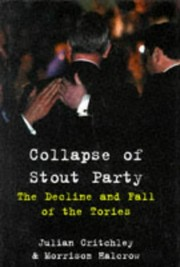 Cover of: Collapse of stout party | Julian Critchley
