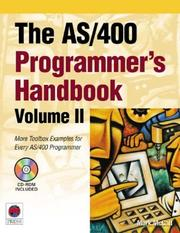 Cover of: The AS/400 Programmer's Handbook, Volume II (AS/400 Programmer's Handbooks)