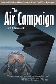 Cover of: The Air Campaign | John A. Warden III