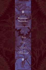 Cover of: Romantic Narrative