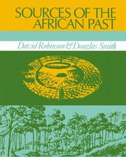 Cover of: Sources of the African Past | David Wallace Robinson