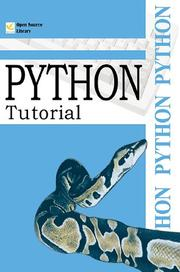 Cover of: Python Tutorial (Open Source Library) | Guido Van Rossum