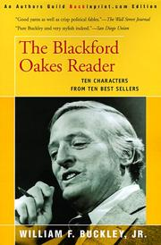 Cover of: The Blackford Oakes reader