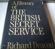 Cover of: A history of the British secret service | Deacon, Richard