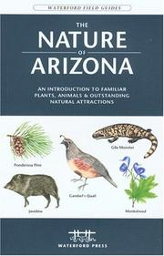 Cover of: The Nature of Arizona, 2nd | James Kavanagh
