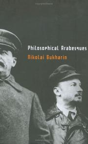 Cover of: Philosphical arabesques