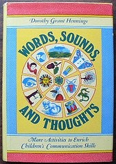 Cover of: Words, sounds, & thoughts | Dorothy Grant Hennings