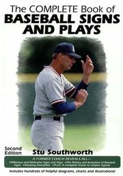 Cover of: complete book of baseball signs and plays | Harold S. Southworth