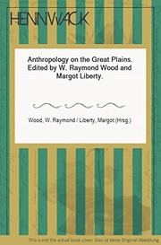 Cover of: Anthropology on the Great Plains