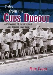 Cover of: Tales from the Cubs Dugout | Pete Cava