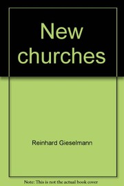 Cover of: New churches