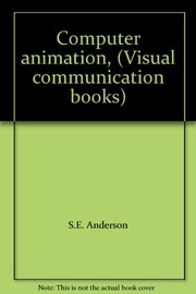 Cover of: Computer animation |