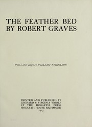 Cover of: The feather bed | Robert Graves