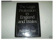 Cover of: The legal profession in England and Wales