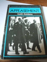 Cover of: Appeasement | Keith Robbins