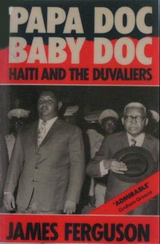 Image of the cover of 'Papa Doc, Baby Doc: Haiti and the Duvaliers'