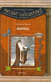 Cover of: Aristotle (Biography from Ancient Civilizations) (Biography from Ancient Civilizations)