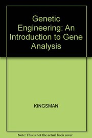 Cover of: Genetic engineering | S. M. Kingsman