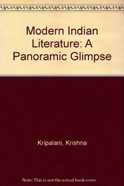 Cover of: Modern Indian literature: a panoramic glimpse.