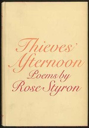 Cover of: Thieves' afternoon