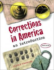 Cover of: Corrections in America | Harry E. Allen
