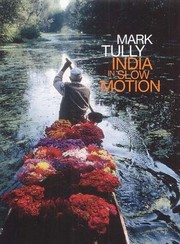 Cover of: India in slow motion
