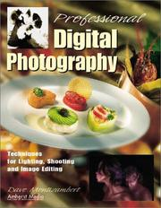 Cover of: Professional digital photography | Dave Montizambert