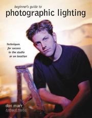 Cover of: Beginner's Guide to Photographic Lighting