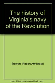 Cover of: The history of Virginia