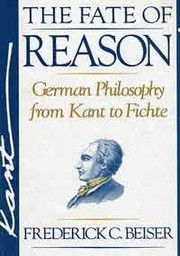 Cover of: The fate of reason | Frederick C. Beiser