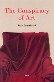 Cover of: The Conspiracy of Art