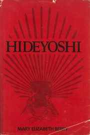 Cover of: Hideyoshi | Mary Elizabeth Berry