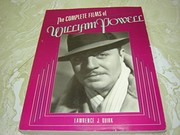 Cover of: The complete films of William Powell