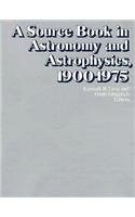 Cover of: A Source book in astronomy and astrophysics, 1900-1975 |