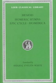 Cover of: The Homeric hymns and Homerica