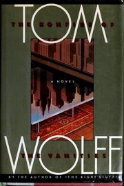 Cover of: The Bonfire of the Vanities | Tom Wolfe