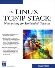 Cover of: The Linux TCP/IP Stack